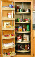 pantry cabinet lazy susan for easy access to your kitchen cabinets